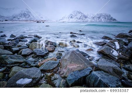 Coast of Norwegian sea 69938387