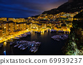 View of Monaco in the night 69939237