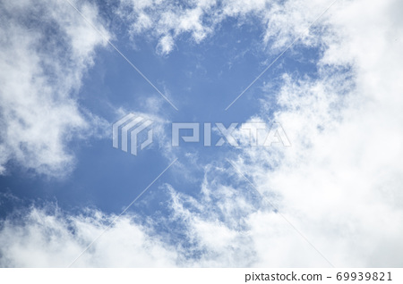 White Clouds in the Sky 69939821