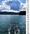 Lake Aoki in summer in Omachi City 69953119