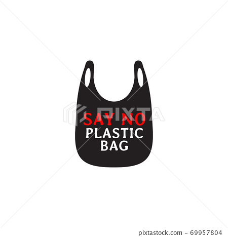 Plastic bag campaign design template 69957804