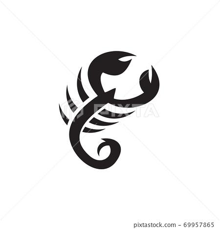 Scorpion logo design vector template 69957865