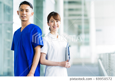 醫院醫生醫生醫療護士護士 69958572