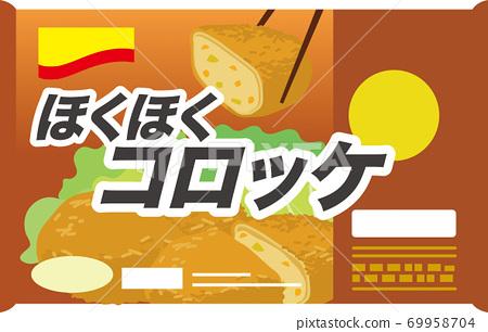 冷凍食品炸丸子 69958704