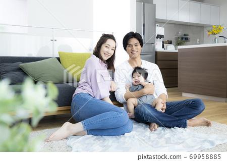 가족 가족 아기 육아 69958885