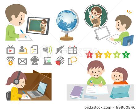 兒童學習平板電腦 69960940