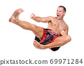 Muay Thai fighter 69971284