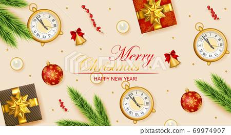 Happy New Year 69974907
