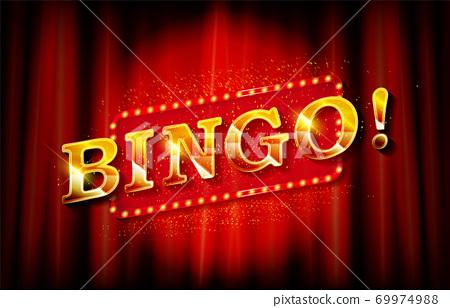 Bingo banner template. Vector illustration 69974988