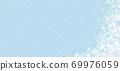 雪晶白背景浅蓝色 69976059