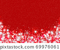 雪晶白色背景红色 69976061