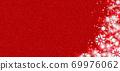 雪晶白色背景红色 69976062