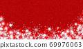 雪晶白色背景红色 69976063