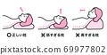 正確的枕頭太低的枕頭太高的枕頭(女) 69977802