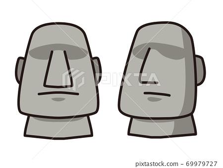 Moai雕像 69979727