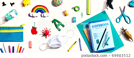 Back to school after Covid-19 theme 69983512