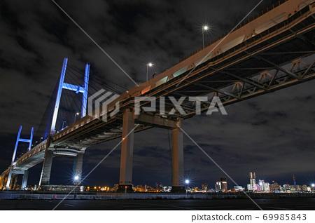 橫濱/港未來21辦公室照明/橫濱海灣大橋(TOWERS Milight) 69985843
