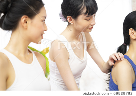 여성 라이프 스타일 스포츠 69989792