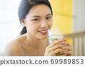 여성 라이프 스타일 편안한 다이어트 해독 69989853