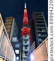 展望东京铁塔当天的特殊照明 69994220
