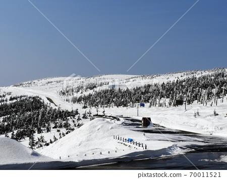 Hachimantai Snow landscape 70011521