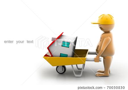 Construction worker 70030830