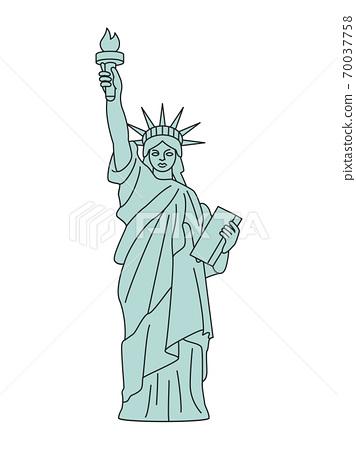 自由女神像 70037758
