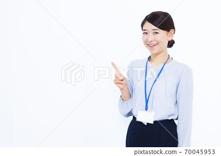 30 대 여성 오피스 캐주얼 화이트 백 70045953