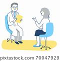 医生和病人检查 70047929