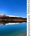 Lake Aoki in winter 70049240