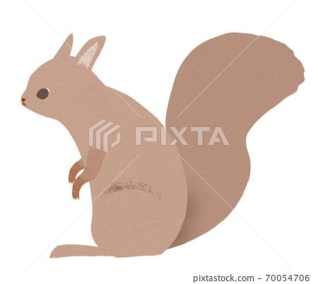 다람쥐 일러스트 70054706