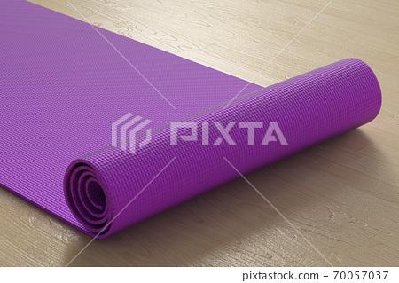 Purple yoga mat 70057037