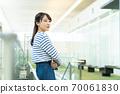 Female student, university student, campus life 70061830