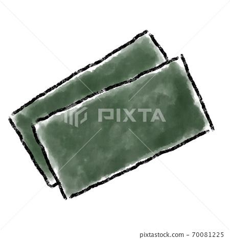 海藻水彩手繪材料 70081225