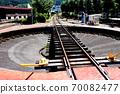 오이가와 철도 천두 역의 전차 70082477