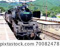 천두 역에서 정차하는 증기 기관차 70082478