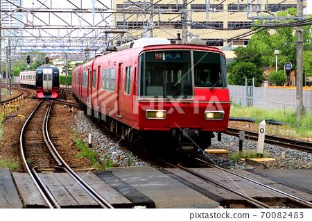 名鐵車輛進入車站 70082483