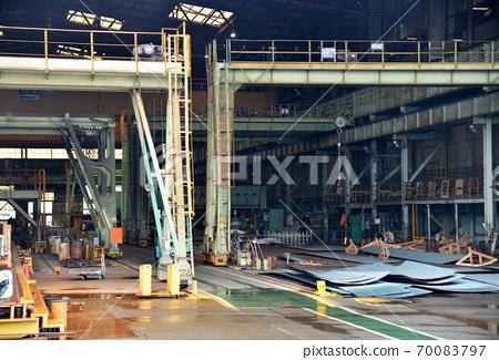 Huge steelworks 70083797
