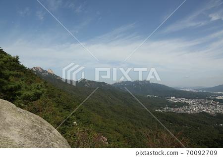 북한산.국립공원.서울시가.도시 70092709