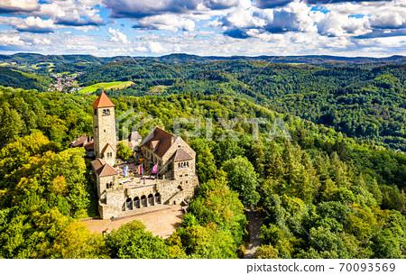 Wachenburg Castle in Weinheim - Baden-Wurttemberg, Germany 70093569