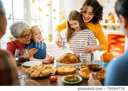 Happy Thanksgiving Day! 70094736