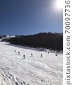 Ski resort of fine weather 70097736