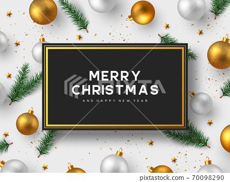Christmas holiday design. 70098290