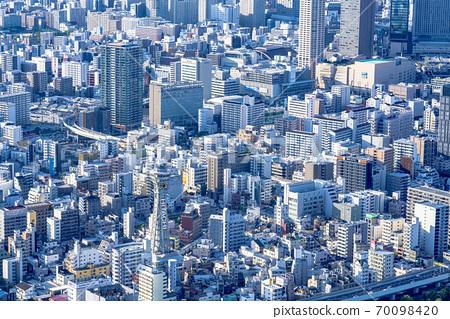 오사카 도시 경관 오구, 나니와 구 방면 70098420