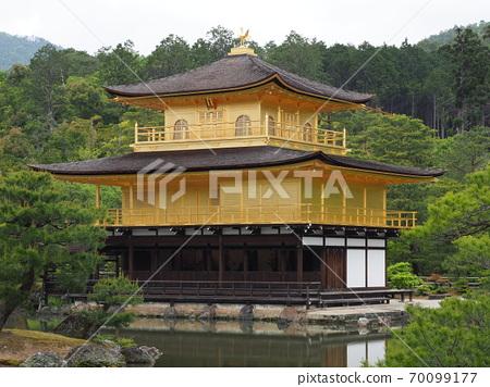 新鮮的綠色Kinkaku-ji 70099177