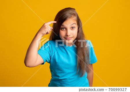 think use your brain smart child creative idea 70099327