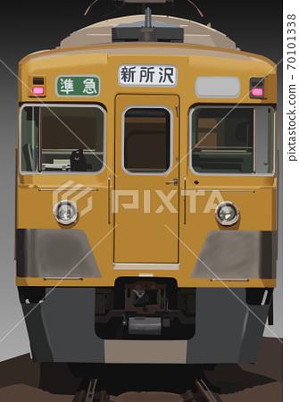 舊2000系列半特快新常澤線 70101338