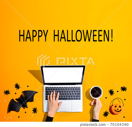 Happy Halloween message 70104390