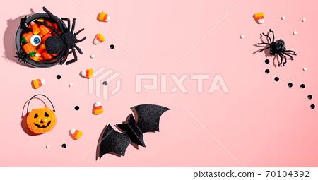 Halloween theme decorations 70104392