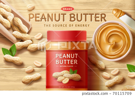 Natural peanut butter ad 70115709